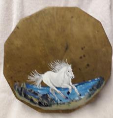 Horse On Deerskin Drum